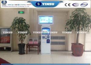 China Payment Kiosk Machine / Airport Self Service Kiosk Terminal Optional Color on sale