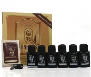 China Sunburst Hair Growth Liquid , Hair Nourishing Liquid For Bald Treatment on sale