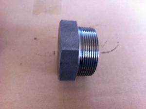 China ASME B16.11 Threaded Pipe Fittings , Threaded Socket Welding Hex Head Plug N08020 on sale