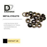 China Custom Size Bulk Antique Brass Grommets Eyelets Ring | Metallic Clothing Eyelets 5mm Small Size on sale