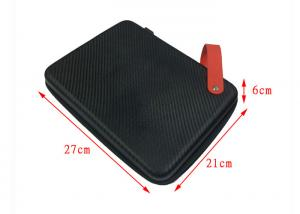 China Small Size Lenovo Laptop Case Carbon Fiber PU Fabric with Handle 270*210*60mm on sale