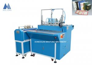 China Maufung Book Cover Case Pasting Machine Semi Auto Book Case Making Machine MF-SCM500A on sale
