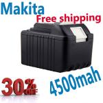 Sanyo Cell Replacement Battery for Makita 194205-3 BL1830 LXT400 Power Tool Battery 4500mA