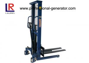 China Small 1.0 Ton High Lift Hydraulic Hand Pallet Truck For Warehouse Transport Equipment supplier