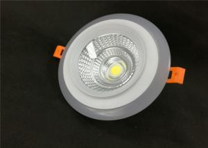 China 18W+4W COB Led Downlight White Round Step With Isolated Driver AC 85-265V on sale
