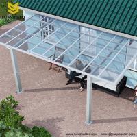Backyard Fixed Roof Polycarbonate Veranda Cover/aluminum patio cover/patio awnings/terrace cover/polycarbonate patio