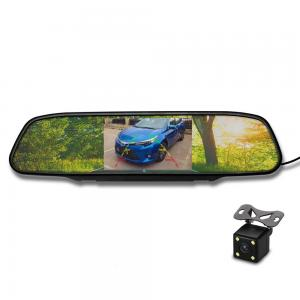 China 4.3 inch TFT LCD Reverse Rear View Mirror for Car with Reversing Camera on sale