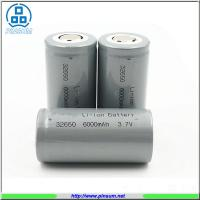 Li-ion rechargeable de batterie au lithium de batteries de 3.7v 6000mah 32650