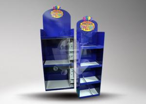 China Supermarket 4 Tier Toy Display Stands Shelf / Pop Cardboard Displays on sale