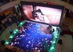 Rigid P6.25 Indoor led dance floor video Full color display screen for stage