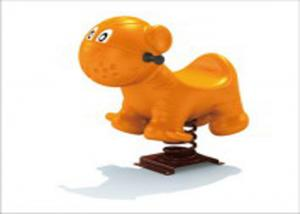 China Eco Friendly Cute Outside Playground Spring Rider For Amusement Park KP-F009 on sale