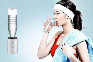 China High Hydrogen Concentration Hydrogen Water Ionizer With Rechargeable Lithium Cell on sale