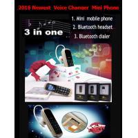 China Mini phone J8 GTSTAR BM50 Voice Changer Small Mobile Phone smart bluetooth headset Mini phone +very small mobile