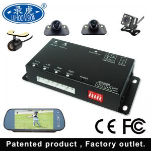 China Black 4 Channel Car DVR System / Portable Mobile DVR For Vehicles on sale