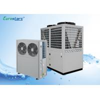 China Multifunction Air Source Heat Pump Water Heater Double Pipe Condenser on sale