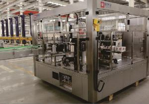 China Self Adhesive Labeling Machines For Bottles , Spc-ds Bottle Labeling Equipment on sale