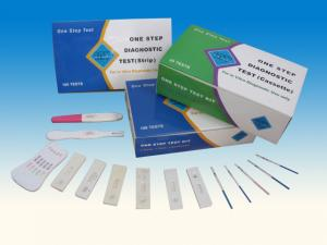China rapid test kits manufacturers one step test pregnancy on sale