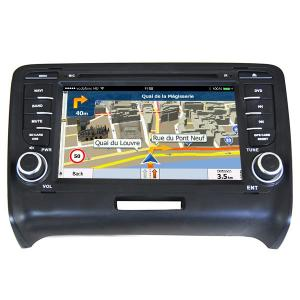 China Car Multimedia Receiver Audi Dvd Player Android 7.1 Qcta Core Manufacturer on sale