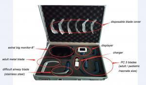 China Miller Blade VS Mac?Portable Video Laryngoscope Fiber Optic Sizes For Adults on sale