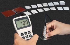 China Measuring Range 0-1500μm Non Destructive Testing Equipment Coating Thickness Tester on sale