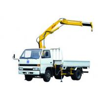 Durable Raise Down Articulated Boom Crane 1400kg For Greening Work
