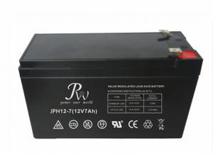 China AGM 12v 7Ah UPS Lead Acid Battery Solar Power Storage Batteries on sale