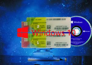 China Multi-language Win 10 pro COA License Sticker  64Bit OS 100% Original Working Serial Key on sale