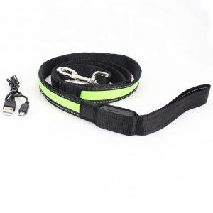 China LED Dog USB Rechargeable Collars And Leashes Pet Product Waterproof Flashing on sale