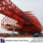 Overhead highway and viaducts gantry girder erection movable scaffolding system manufacturer machine