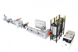 China PET Bottle Single Screw 1000 Kg H Plastic Waste Recycling Machines on sale