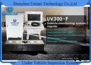 China Russian Interface Uvss Under Car Bomb Detector , Under Vehicle Surveillance System on sale