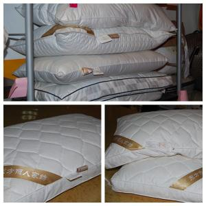 China quilted bamboo pillow on sale