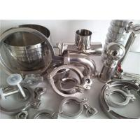 China 304 316 Stainless Steel Pipe Fittings For Food Industry / Chemistry Industry on sale