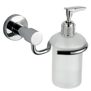 China Distributeur de savon d'acier inoxydable d'accessoires de salle de bains avec la nouvelle conception on sale