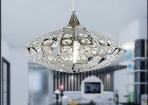 China UFO Shape K9 Crystal Chandelier Pendant Light for Dining Room / Hotel on sale