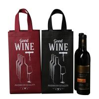 China Gift Non Woven Polypropylene Bags , Custom Non Woven Bags Tall Bottle on sale