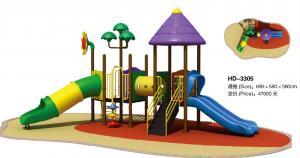 China Children Playground Equipment Plastic Tube Slide Plastic Outdoor Play Equipment on sale