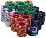 Microplaquetas de pôquer plásticas feitas sob encomenda