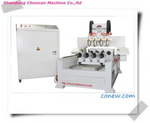 China 3D Four Axis Rotary CNC Router /Engraving Machine on sale