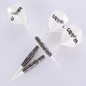 Quality Ultra Darts 18.0g Soft Tip 90% Tungsten Dart Sets With Lip point, Shafts and for sale