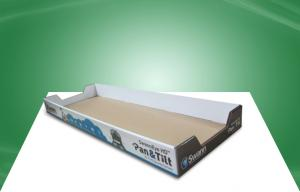 China Promotion Products PDQ Retail Display Trays / Cardboard Countertop Tray 4C / 0C Offset on sale