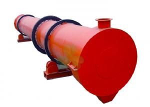 China High Productivity Rotary Sand Dryer / Rotary Sludge Dryer Machine SGS Approval on sale