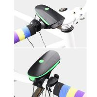 New hot sale rechargeable Waterproof usb led bike/bicycle wheel decorative lights with custom sound bike horn