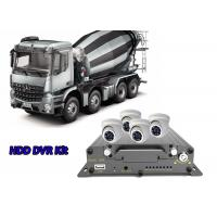4 Channel 3G Mobile DVR WiFi Car DVR Security System For Special Vehicle Solution