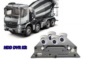 China 4 Channel 3G Mobile DVR WiFi Car DVR Security System For Special Vehicle Solution on sale