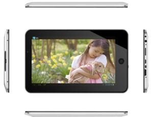 China 7inch android 4.0 Capacitance multi touch screen tablet pc A20 1.0G 1.2G Dual core on sale