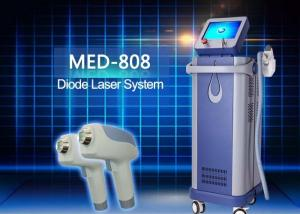 China Med - 808 Portable Home Diode Laser Hair Removal Machine Lightweight Size on sale