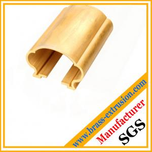China Chinese OEM manufacturer brass extrusion sections C38500 CuZn39Pb3  CuZn39Pb2 CW612N C37700 on sale