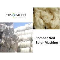 China Comber Noil Baler / Comber Noil Baling Press Machine on sale