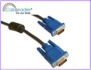 China High Speed VGA male to male 15 pin monitor video cable on sale